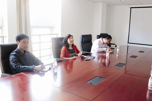 10 月8 日,青岛市四方区现代产业园区规划建设指挥部办公室主任刘永